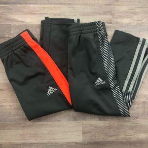 ADIDAS NWOT bundle of two size 4 soccer pants